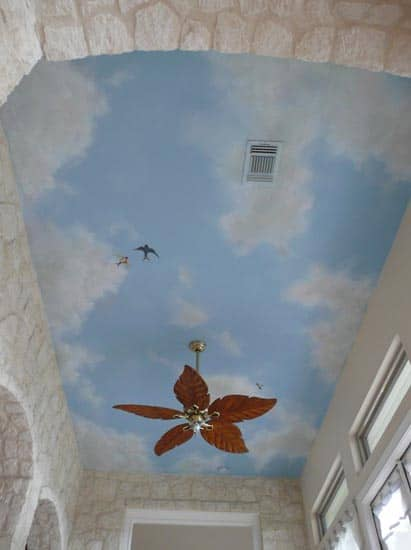 Could ceiling mural