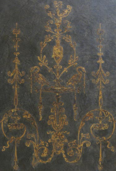 Grotessca Swan Panel in Venetian
