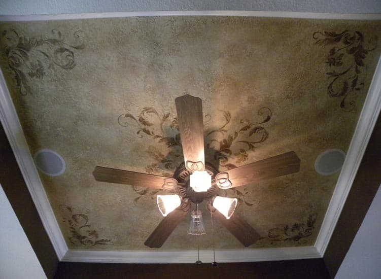 decorative painting ideas for ceilings - Decorative Painting